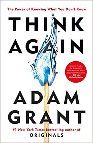 Think Again Book - معرفی کتاب دوباره فکر کن
